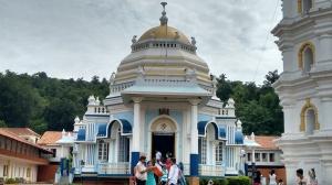 Mangeshi Temple in Goa