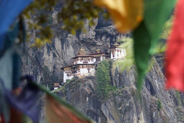 Paro Taktsang Monastery in Bhutan