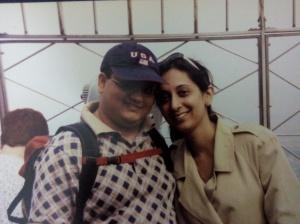 Chef Akshay with his wife Aditi
