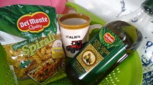 Delmonte Spirali Pasta and olive oil