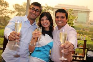 Eat, drink and gossip  at the Wine Social at WelcomSheraton