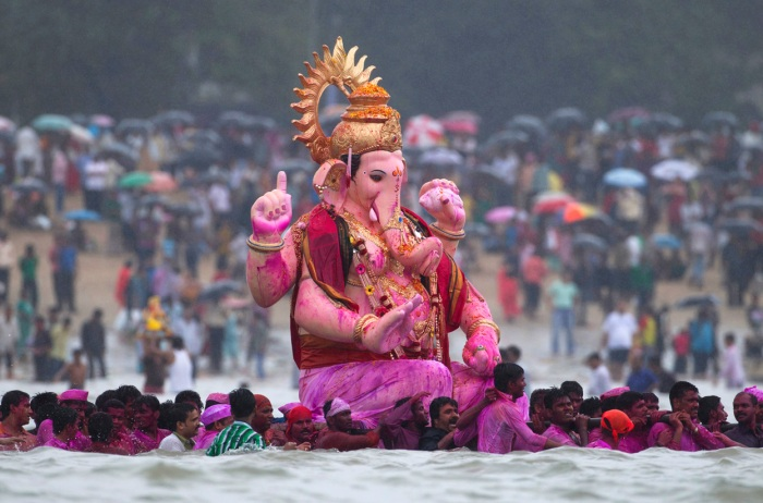 Ganeshotsav is celebrated with lots of fervour and zeal
