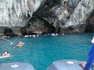 Snorkelling around Koh Muk island