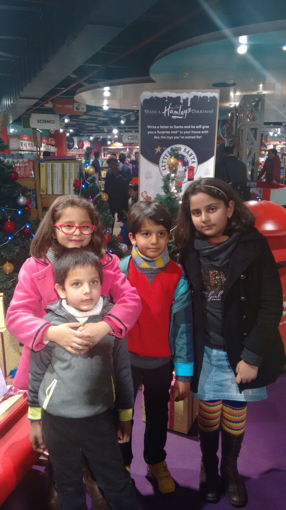 Kids at Ambience Mall