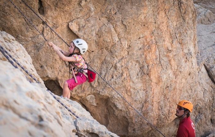 family-rock-climbing
