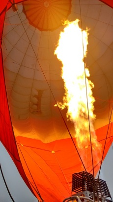 Fuelling the balloon