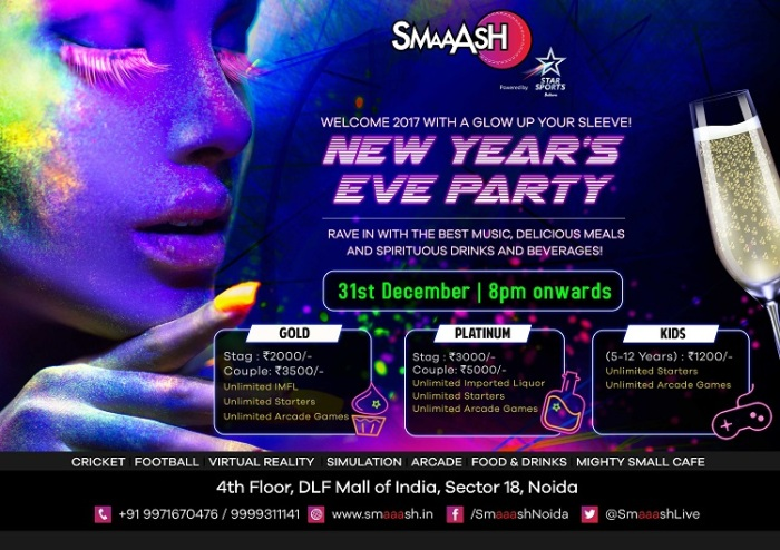 noida-carnival-party-nye-2017-party-mall-of-india-smaaash
