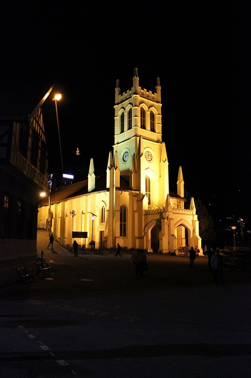 shimla-church
