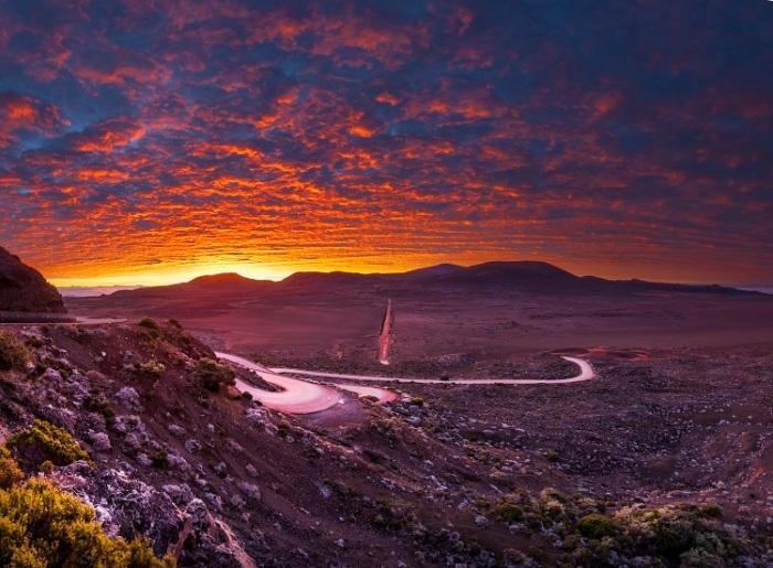 volcan plaine des sables