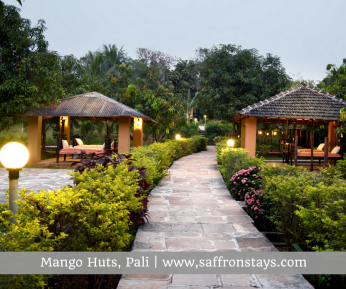 Mango Huts, a charming, rustic farmstay in Pali