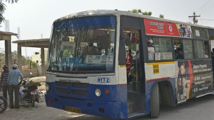bus to chilkur